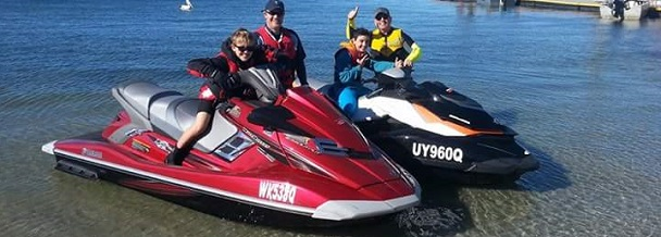 Jet ski finance for Dads and their lads