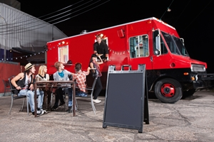 A truck loan could help you live out  your foodie dreams.