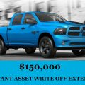 $150,000 Instant Asset Write Off Extended