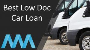 best low doc car loan