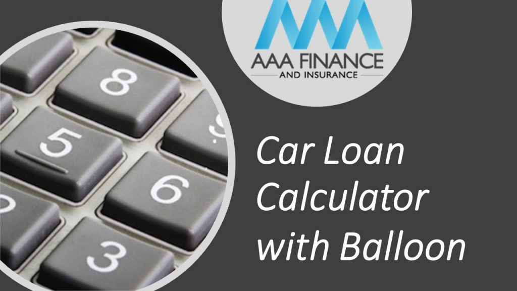 car loan calculator with balloon payment option
