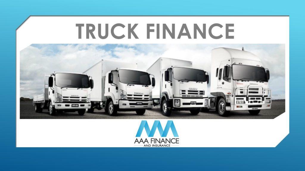 Truck Finance | Heavy Vehicle Loans | AAA Finance
