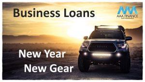 business loans new year new gear aaa finance